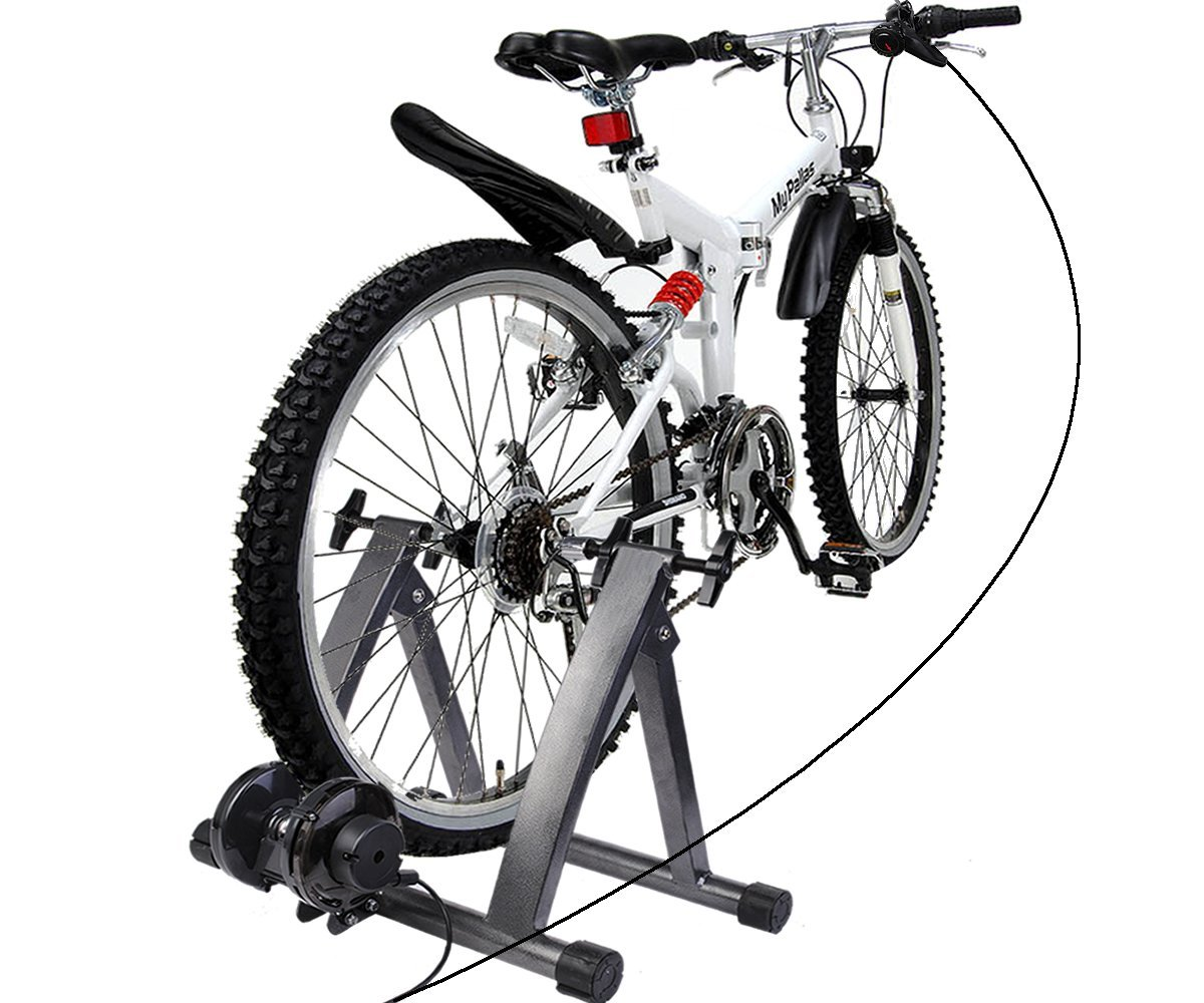 Stationary Bike Trainers For 29er Wheels Yes They Do Exist